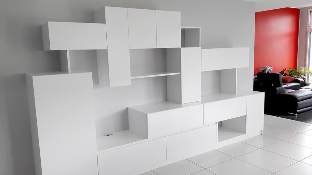 Réalisation d'aménagement intérieur par Elégance Bois - Artisan Créateur à Remouillé (44) - Agenceurs sur mesure