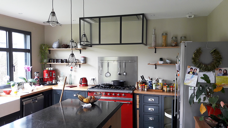 Réalisation de cuisine par Elégance Bois - Artisan Créateur à Remouillé (44) - Agenceurs sur mesure